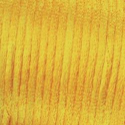 Flechtkordel Satin, 2mm, hellgelb