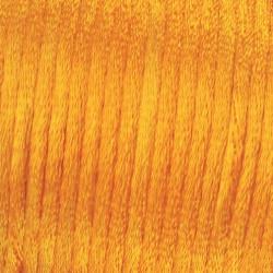 Flechtkordel Satin, 2mm, gelb