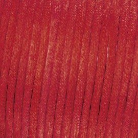 Flechtkordel Satin, 2mm, bordeaux