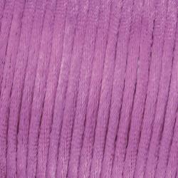 Flechtkordel Satin, 2mm, violett