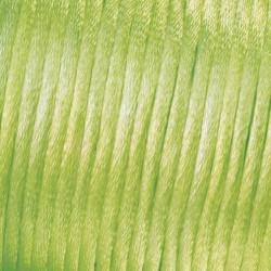 Flechtkordel Satin, 2mm, hellgrün