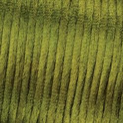 Flechtkordel Satin, 2mm, grün