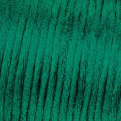 Flechtkordel Satin, 2mm, dunkelgrün