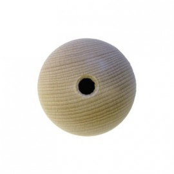 Holzkugel roh, Ø 15mm, 25Stk.