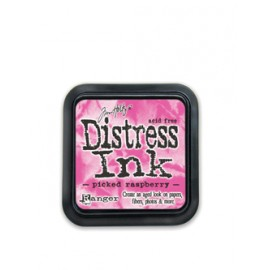 Distress Ink, Picked Raspberry, 5x5cm