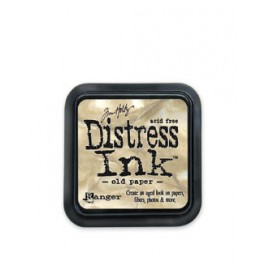 Distress Ink, Old Paper, 5x5cm