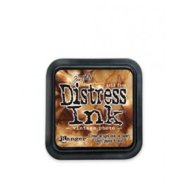 Distress Ink, Vintage Photo, 5x5cm