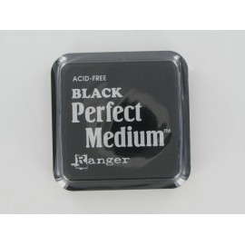 Perfect Medium, Black, 5x5cm