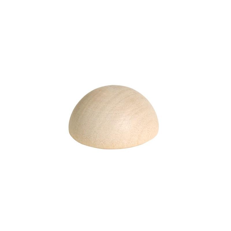 Holzhalbkugel, 40mm