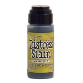 Distress Stain, Crushed Olive, 29ml