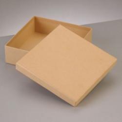 Kartonbox quadrat, 12.5x12.5cm, Höhe: 7cm