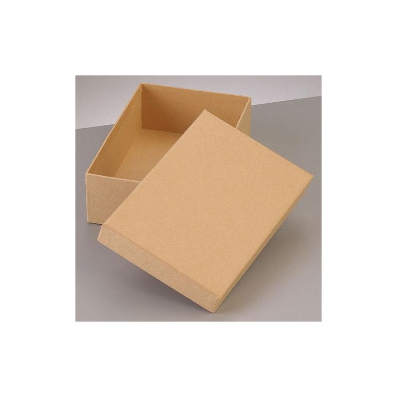 Kartonbox rechteck, 12.5x8.5cm, Höhe: 7cm