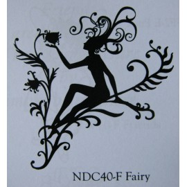 "Clearstamp ""Fairy Silhouette"", 64x53mm"