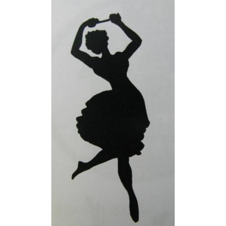 "Clearstamp ""Dancer on Ice"", 70x25mm"