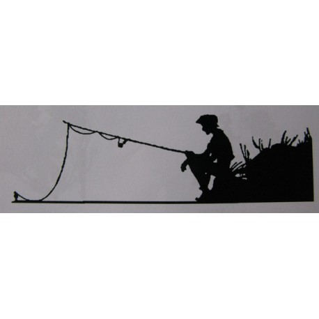 "Clearstamp ""Fishing"", 30x110mm"