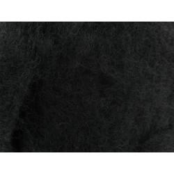 Filzwolle,schwarz, 50g