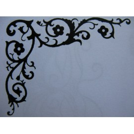 """Clearstamp """"Clever Corner"""", 53x39mm"""