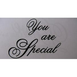 "Clearstamp ""You are Special"", 32x42mm"