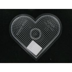 Stiftplatte Herz,  15cm