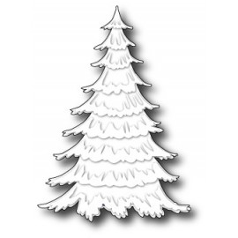"Stanzform ""Frosted Christmas Tree"", 10x5cm"