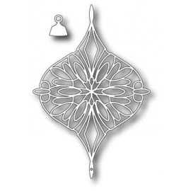 "Stanzform ""Addison Ornament"", 7.9x11.4cm und 1.3x1.3cm"